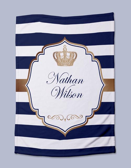 personalised: Personalised Prince Bed Set!