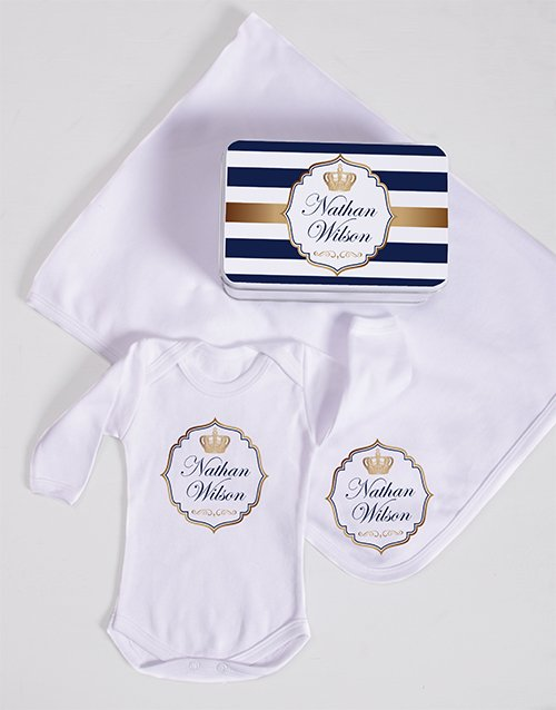 baby: Personalised Prince Spoils Gift!
