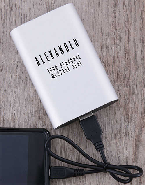 christmas: Personalised Dynaport Powerbank!