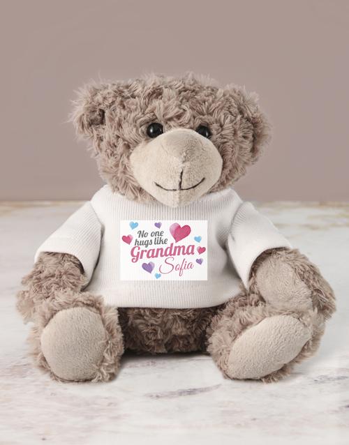 teddy-bears: Personalised Grandma Teddy!