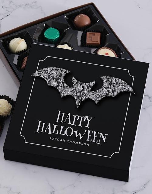 personalised: Personalised Halloween Bat Choc Tray!