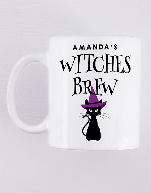 homeware: Personalised Witches Brew Mug!