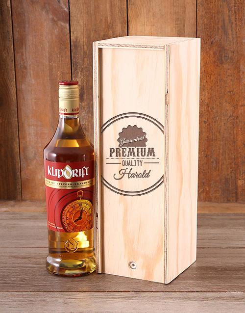 personalised: Personalised Premium Quality Crate!