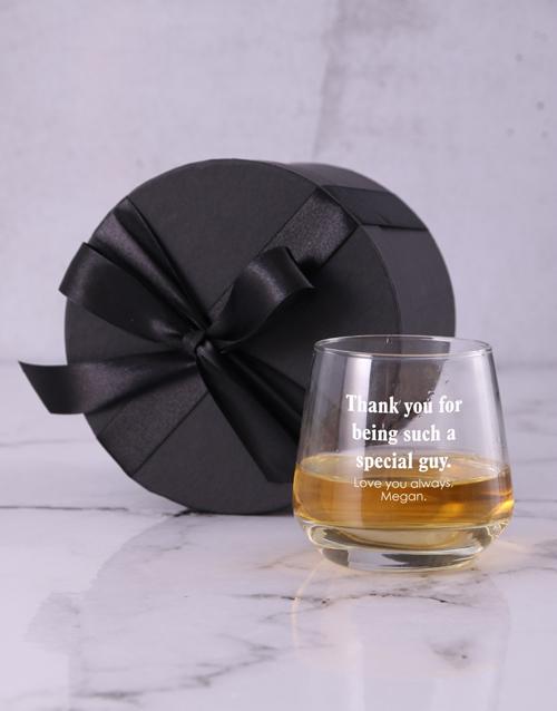 personalised: Personalised Everyones Whiskey Glass!