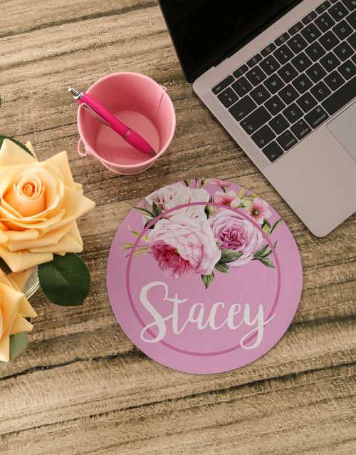 mothers-day: Personalised Roses Mouse Pad!