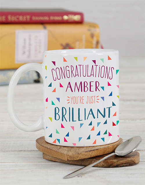 congratulations: Personalised Congratulations Mug!