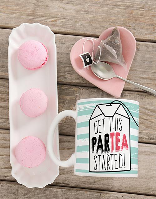 personalised: Personalised Partea Mug!
