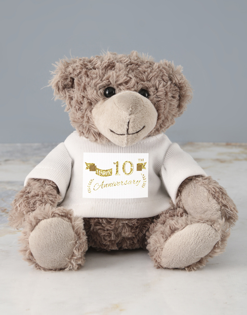 teddy-bears: Personalised Anniversary Jersey Teddy!