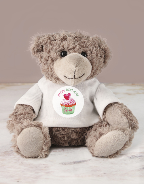 teddy-bears: Personalised Happy Birthday Jersey Teddy!