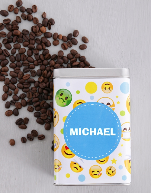 winter: Personalised Get Well Coffee Tin!