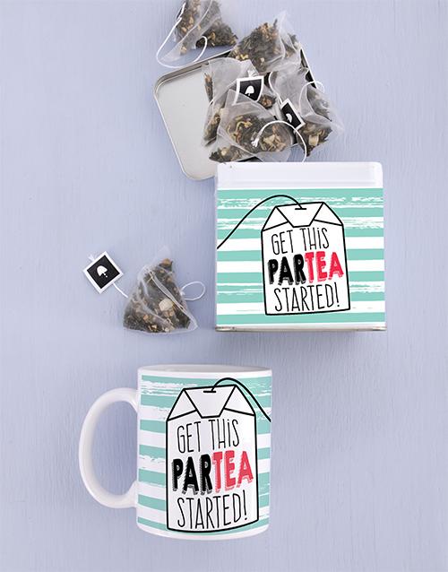 birthday: Personalised Birthday Mug and Tea Tin Combo!
