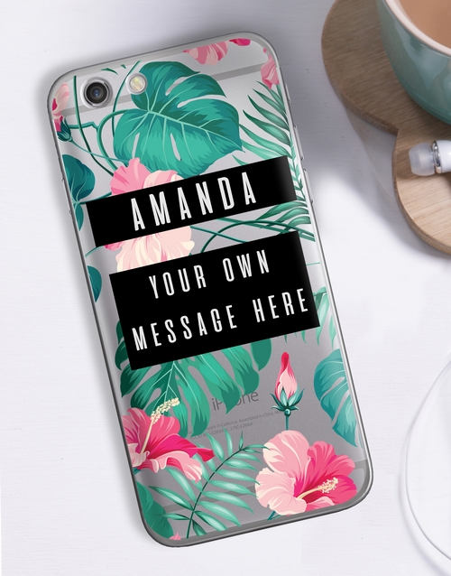 mothers-day: Personalised Tropicana iPhone Cover!