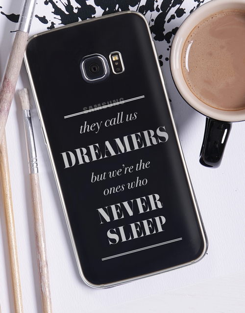 bosses-day: Personalised Dreamers Samsung Cover!