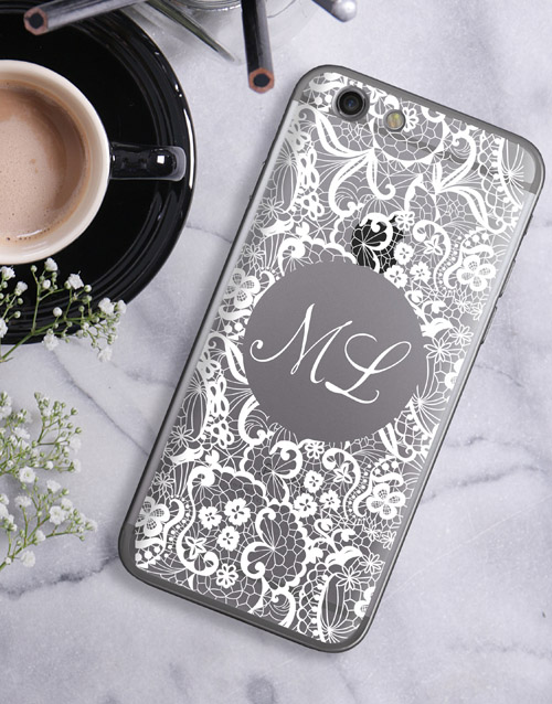 mothers-day: Personalised Lace iPhone Cover!
