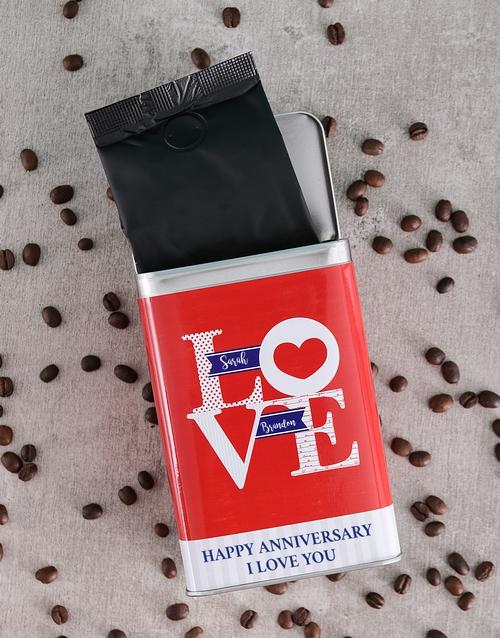 winter: Personalised Love Coffee Tin!