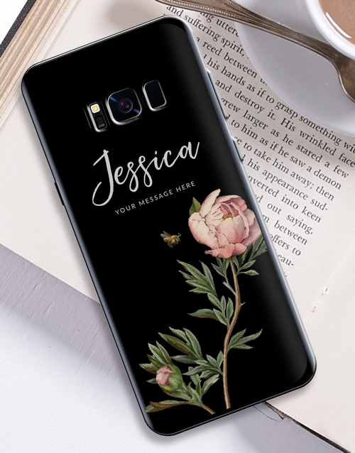 womens-day: Personalised Rose Samsung Cover!