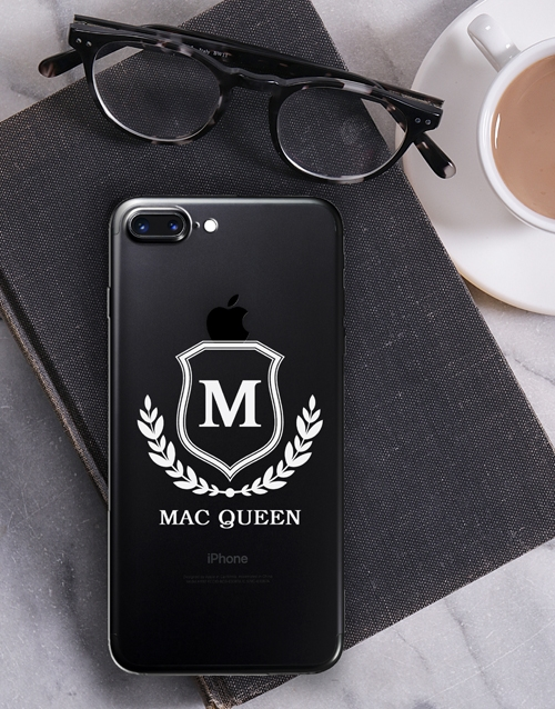 personalised: Personalised Shield iPhone Cover!