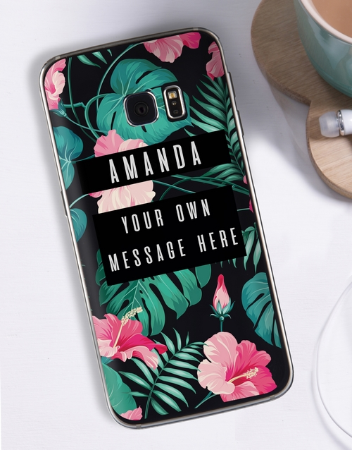 mothers-day: Personalised Tropicana Samsung Cover!