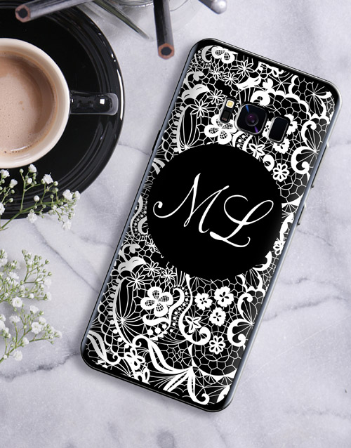 mothers-day: Personalised Lace Samsung Cover!
