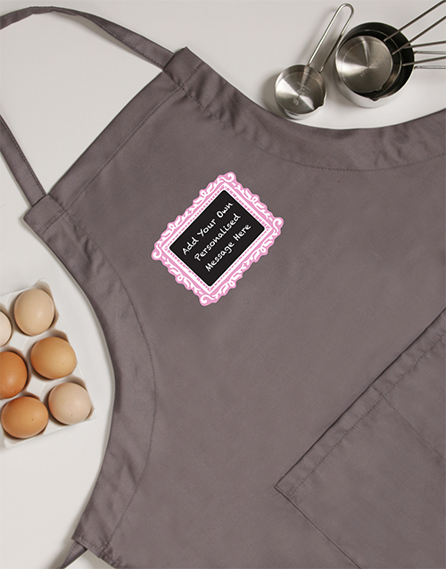 grandparents-day: Personalised Chalkboard Apron!