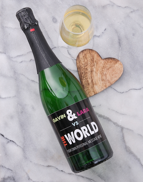 personalised: Personalised VS The World Wine!