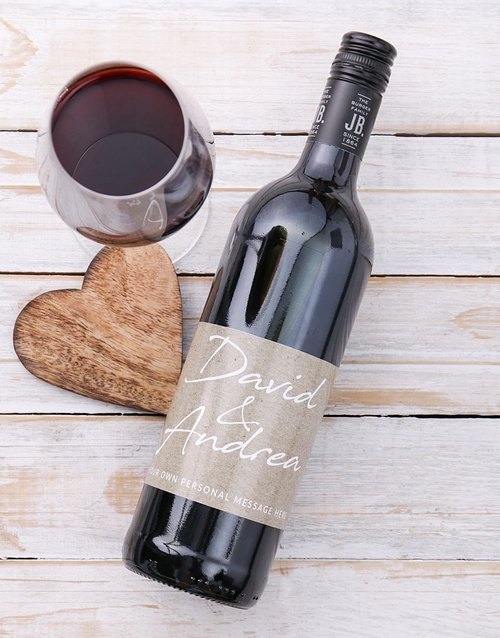 love-and-romance: Personalised Couples Signature Wine!