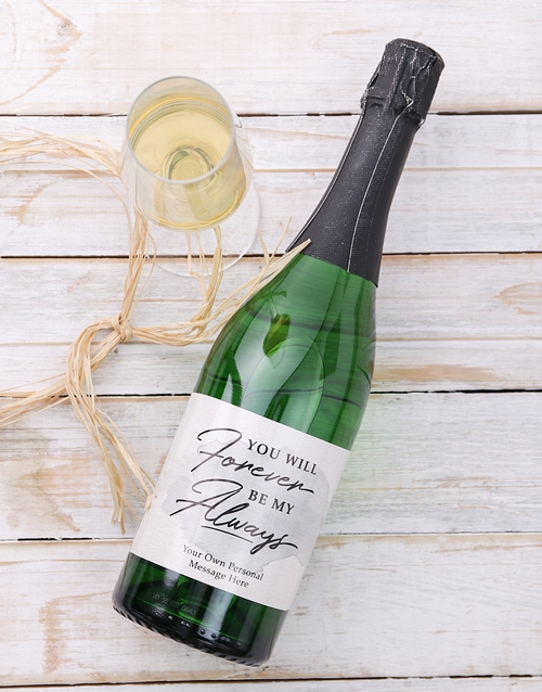 personalised: Personalised Forever and Always Wine!