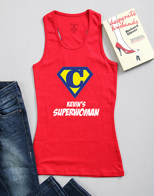 clothing: Personalised His Wonderwoman Shirt!