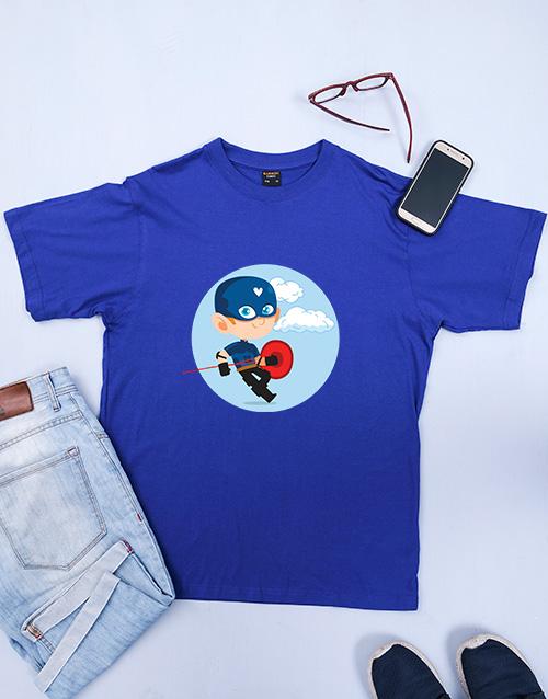 clothing: Personalised Superhero Shirt!