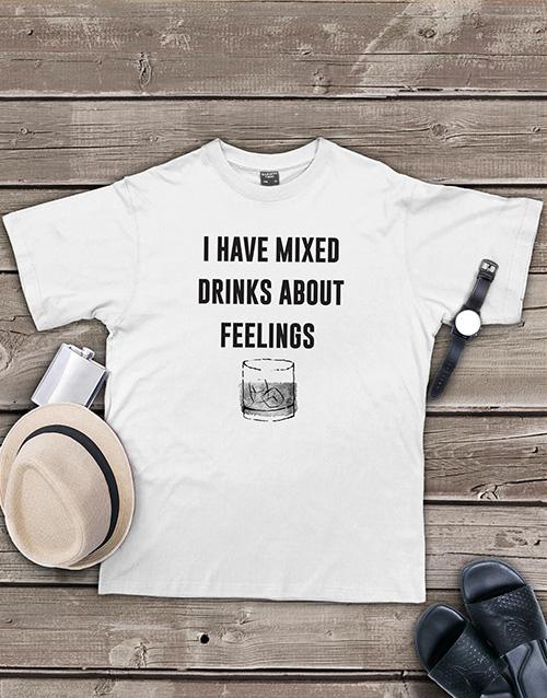 clothing: Personalised Mixed Drinks Shirt!