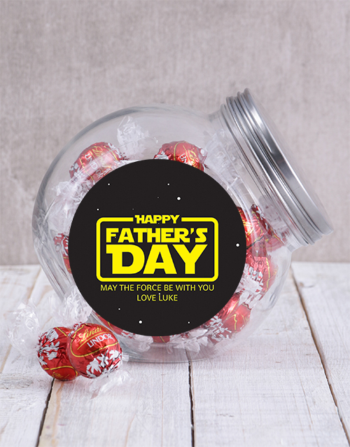 fathers-day: Personalised Star Wars Candy Jar!