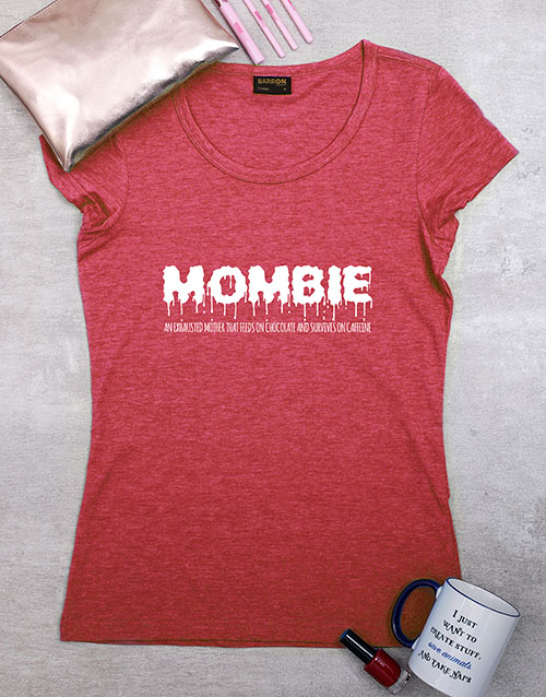 mothers-day: Personalised Mombie Shirt!