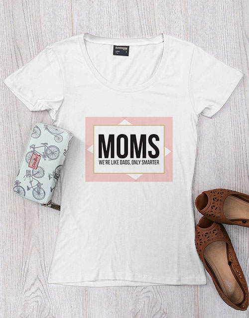 mothers-day: Personalised Smarter Than Dads Shirt!