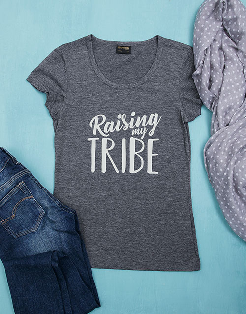 mothers-day: Personalised Raising My Tribe Shirt!