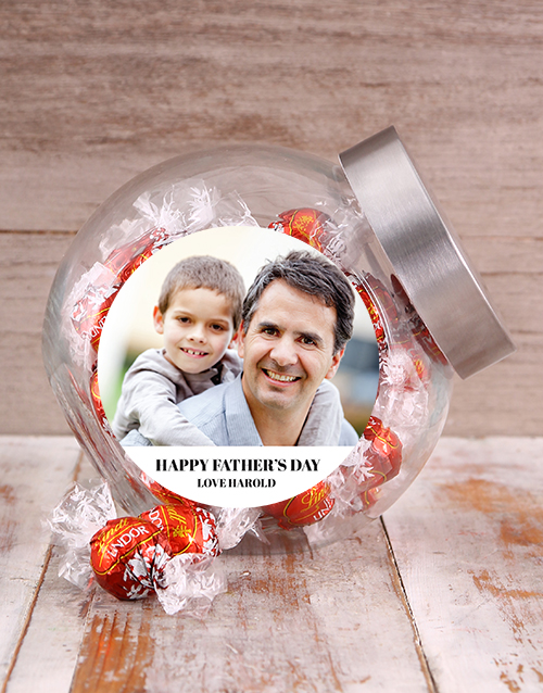 fathers-day: Personalised Picture Perfect Candy Jar!