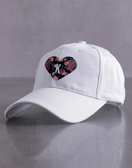 personalised: Personalised Heart Cap!
