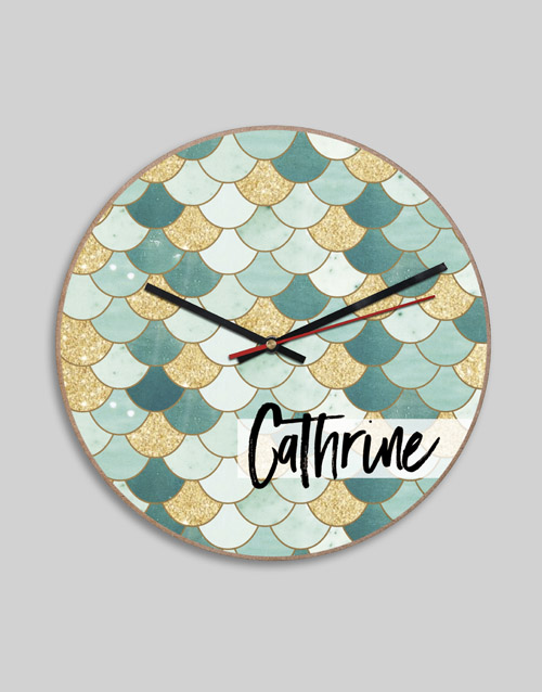 home-decor: Personalised MDF Good Time Clock!