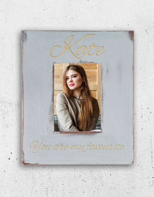 home-decor: Personalised My Favourite Photo Frame!