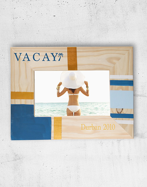 home-decor: Personalised Vaycay Photo Frame!