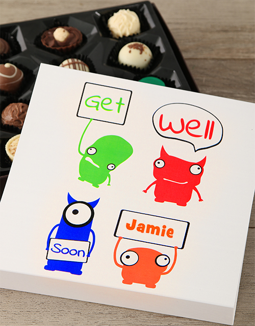 personalised: Personalised Get Well Soon Tray!
