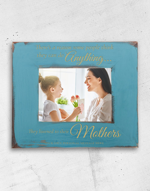 home-decor: Personalised Can Do Anything Photo Frame!