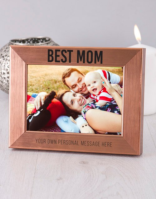 home-decor: Personalised Best Mom Photo Frame!