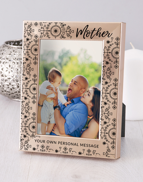 home-decor: Personalised Mother Photo Frame!