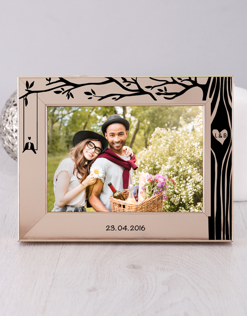 home-decor: Personalised Tree Photo Frame!