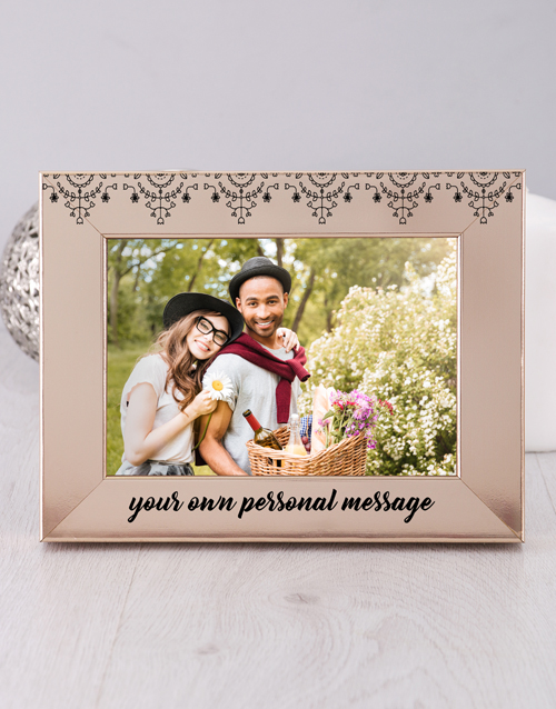 home-decor: Personalised  Message Photo Frame!