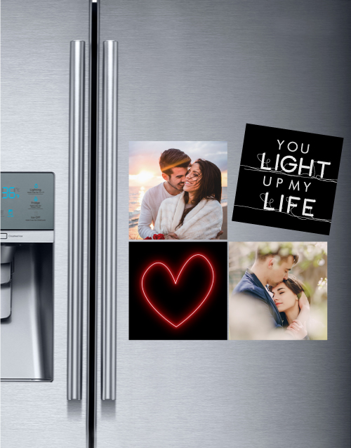 christmas: Personalised Light Up My Life Magnets!