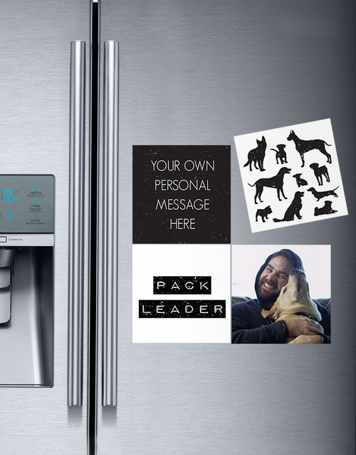 gadgets: Personalised Pack Leader Magnets!