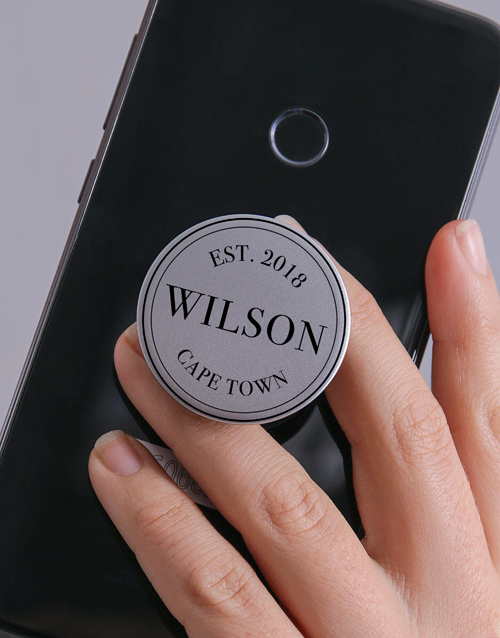 year-end: Personalised Hometown Popsocket!