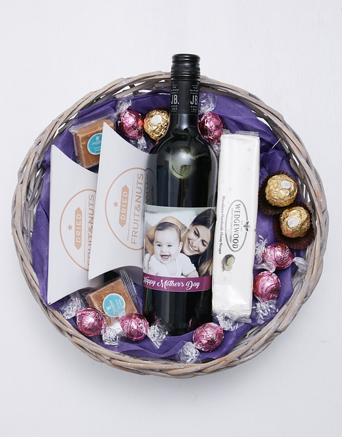 mothers-day: Personalised Photo Mothers Day Basket!