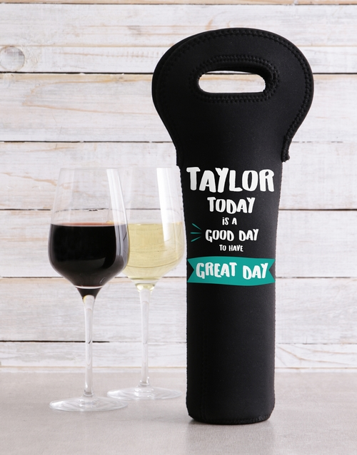 heritage-day: Personalised Return To Wine Carrier!